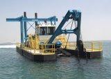 Scherblock-Absaugung-Sand-Bagger/Bagger/ausbaggernde Maschine/Lieferungs-Boot/Behälter