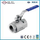 ISO5211のF/Fのステンレス鋼の球弁
