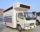 5 vehículo publicitario móvil al aire libre del carro 4*2 de la pantalla de T LED