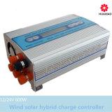 regolatore ibrido solare del caricatore del vento di 300W 600W con affissione a cristalli liquidi LED 12V 24V