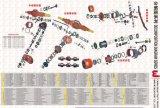 pièces de rechange Sinotruk HOWO WG9725570001 Assemblage de câble d'accélérateur