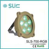 Illuminazione del raggruppamento di IP68 RGB, lampada subacquea della piscina LED di RGB (Slw-07b)
