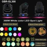200W LED DMX 9+Blank 컬러 휠을%s 가진 이동하는 맨 위 반점 빛