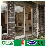 Puerta australiana del marco del certificado de Pnoc080234ls con el vidrio Tempered