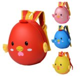 Parque encantador mochila de casca de ovo Bonitinha Pinto Cartoon Bag