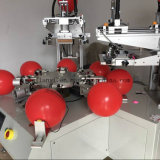 Machine d'impression automatique d'écran de ballon de deux couleurs de ventes chaudes