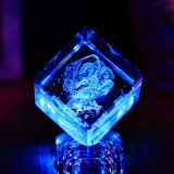 Het Type van Product van Block&Cube en de Kubus van het Glas van het Kristal van de Stijl van Feng Shui