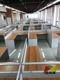 Nouveau design Ordinateur de bureau partition de table pour 4 sièges de station de travail