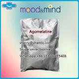 Pó farmacêutico Agomelatine das drogas de antidepressivo da matéria- prima