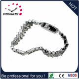 Vigilanza registrabile del vestito da modo del Wristband della cassa materiale d'argento della lega per le signore