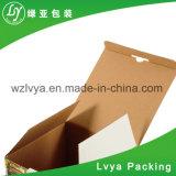 Rectángulo de empaquetado acanalado del regalo del rectángulo de papel
