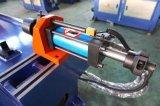 Doblador automático del tubo del acero de carbón del CNC del tubo del ángulo de Dw50cncx2a-1s
