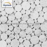 Bello disegno delle mattonelle di mosaico di marmo esterne delle mattonelle della parete