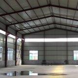 Het lichte Pakhuis van de Structuur van het Staal met de Bakstenen muur van 2 Meter