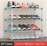 Equipamento para Engraxar os Sapatos de armário de racks de grande capacidade de armazenamento de dados móveis domésticos DIY Rack Sapata portátil simples (FS-04E)