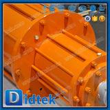 Запорная заслонка конца стержня Didtek поднимая пневматическая сработанная ая