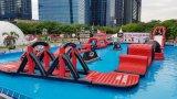 Aqua-Park-aufblasbarer Wasser-Vergnügungspark-aufblasbarer Wasser-Park für Swimmingpool