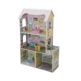 Casa de muñeca de madera del juego