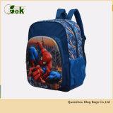 Lo zaino attivo di corsa dello Spiderman 3D di modo all'ingrosso scherza i sacchetti di banco dei bambini