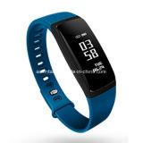 Pulsera elegante elegante de la pantalla táctil de la aptitud del monitor del ritmo cardíaco del reloj de la presión arterial del Wristband