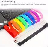 Красочные браслет флэш-накопитель USB 1 ГБ - 128 ГБ для рекламных подарков