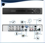 cámaras de seguridad alejadas móviles del CCTV de la opinión del kit de 960p HD DVR