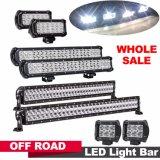 """4 pollici fuori dalla barra chiara 27W della strada LED barre chiare chiare di riga LED del doppio della barra dell'inondazione LED del CREE dell'indicatore luminoso 18W 4 dell'automobile del fascio di punto da 30 gradi """""""