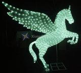 La luz de Motif 3D con Ce RoHS caballo volador