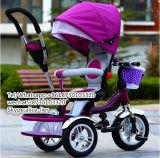 금속 세발자전거 또는 아이들 아기 Trikes가 360 도 Roated 시트에 의하여 농담을 한다