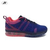 La nuova scarpa da tennis di modo mette in mostra le suole del cuscino d'aria dei pattini per le donne (V006#)