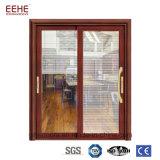 Многофункциональная сползая алюминиевая стеклянная штабелируя дверь входа для оптовых продаж