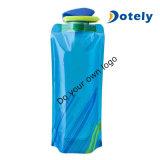 Гибкие съемные складные многоразовых бутылок для воды 700 мл для установки вне помещений