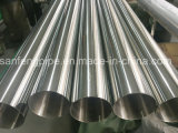 Tube d'acier inoxydable de fini de miroir d'AISI 201 (granulation 600)