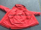 Chaqueta calentada de las mujeres, chaqueta del invierno, chaqueta de nylon