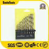 HSS M35 Juego de brocas de torsión de 0.5-3.5mm brocas de metal