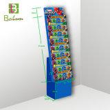 De cartón reciclable Expositor de suelo para el bebé Juguetes Mostrar accesorios Rack
