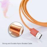 кабель USB 3.0 Micro нейлона 6.6FT/2m Braided Запутывать-Свободно для Samsung, HTC, Motorola, Nokia и Android