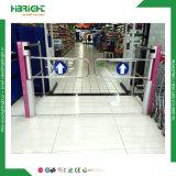 Supermercado Entrada Torniquete Seguridad portón basculante