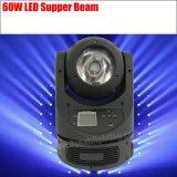 Träger-bewegliches Hauptlicht der Stadiums-Beleuchtung-60W LED