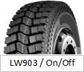 Neumáticos de la marca de fábrica TBR de LANWOO (modelo del mecanismo impulsor LW903)