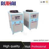 Capacidade refrigerando de refrigeração 7216kcal/H do refrigerador 8.39kw/2.5ton de Effeciency 3HP ar elevado para o refrigerador industrial de processamento eletrônico do campo