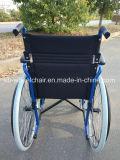 Легкая складчатость, стальная хозяйственная кресло-коляска