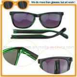 2017 tendência da moda Anti Glare artesanais lente espelhada óculos de sol