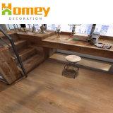 Échantillon gratuit de haute qualité en bois étanche regarder des carreaux de sol en vinyle