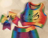 Desgaste da equipe Meninas Custom All Star Claque Fardas de ânimo trajes de dança