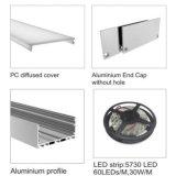 Profilo di alluminio del LED per illuminazione del LED
