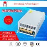Ein-Outputschaltungs-Modus-Stromversorgung 500W24V20A für LED-Bildschirmanzeige