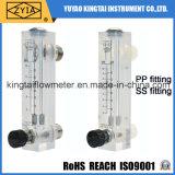 Измеритель прокачки Ss PVC горячего сбывания регулируемый приспосабливая с клапаном