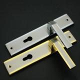 Chapa de hierro de la puerta de mango de aluminio cierre (F919-L15)