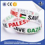 Bracelet fait sur commande bon marché professionnel de silicones, bracelet fait sur commande bon marché de silicones